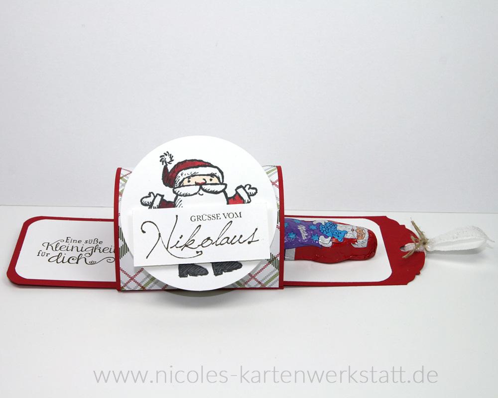 Ziehverpackung Nikolaus