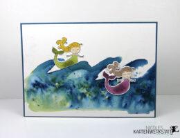 Meerjungfrau-Karte