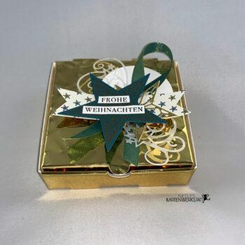 goldene Gutscheinbox